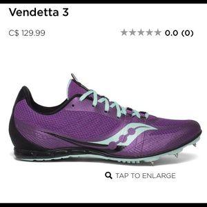 Saucony vendetta 3 ladies track spike sneaker 5